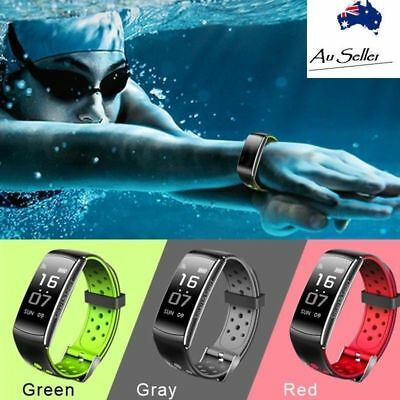 Waterproof Fitness Tracker Swimming Smart Watch Sports Bracelet Fitbit Style