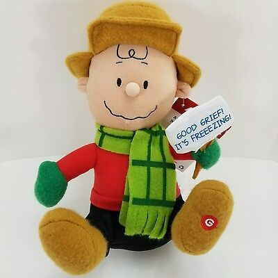 Charlie Brown Peanuts Animated Musical Shakerz Freezing Plush Plays Linus & Lucy