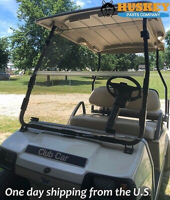 Club Car DS Clear Windshield '00.5 and up *New In Box* Golf Cart Folding Acrylic