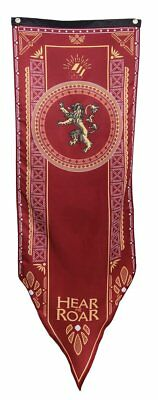 "Game of Thrones House of Lannister Banner/Flag 58"" Inches Tall"