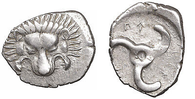 Dynasts of Lycia. Perikles 380-360 BC 1/3 Stater XFUNC Greek Coin#g58 arscoin