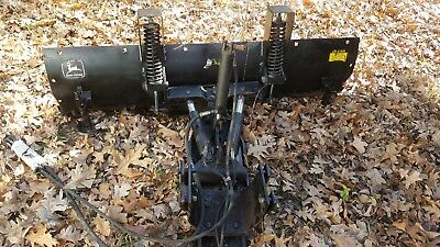 John Deere snow plow off of 955 fits 755 855 etc heavy duty complete