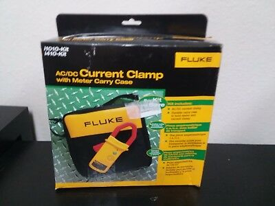 Fluke I410-Kit AC/DC Current Clamp Kit with Carry Case, 600V, 400A AC/DC