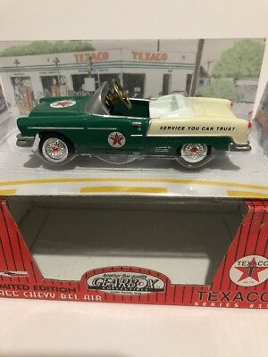1997 Gearbox Limited Edition Texaco Green 1955 Chevy Belair Pedal Car #12