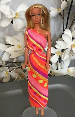 Sunset Malibu Barbie Doll NUDE REPRO 2001 INDONESIA on Waist-EXCELLENT