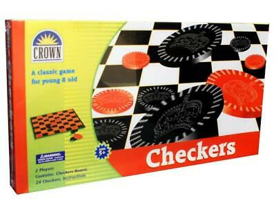 Checkers Set by Crown Educational Toys Books