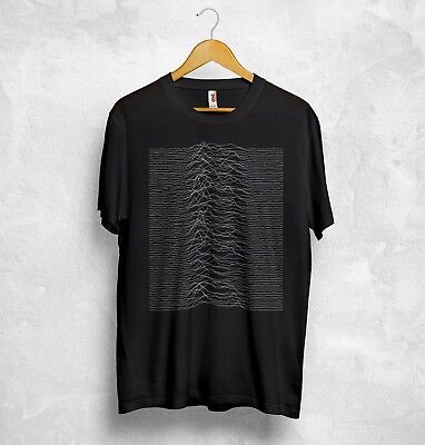 Joy Division Unknown Pleasures T Shirt Top Love Will Tear Us Apart Ian Curtis
