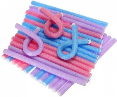 12mm Bendy Twist Benders Hairdressing Foam Hair Rollers Curlers