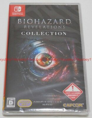 New Nintendo Switch BIOHAZARD Resident Evil Revelations Collection Japan