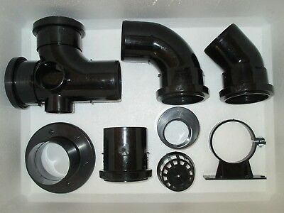 3 Inch Push Fit / Solvent Weld Pipe Fittings Koi Pond