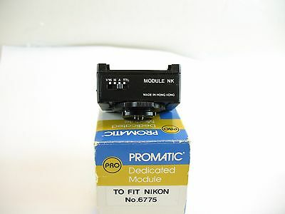 Promatic Dedicated Module to fit Nikon no.6775 only for flash