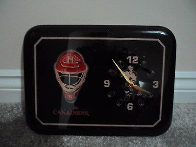 Montreal canadiens ice hockey vintage retro wall clock