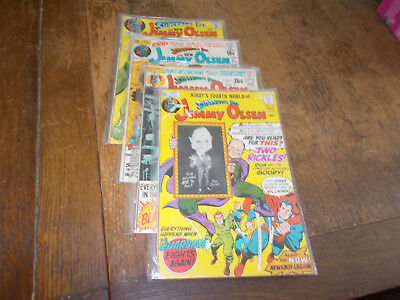 Jimmy Olsen Superman's Pal - 4 issues #136 #137 #138 #139 - DC 1971 Jack Kirby