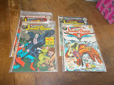 Jimmy Olsen Superman's Pal - 4 issues #141 #142 #143 #144 - DC 1971 Jack Kirby