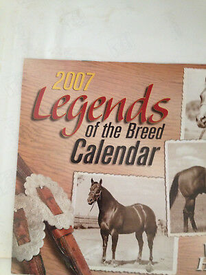 2007 Legends Of The Breed Calender From Western Horseman