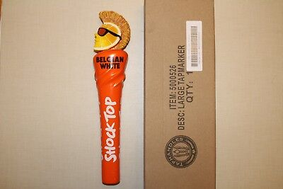 "2017 Shock Top New Style Belgian White NEW IN BOX Tap Handle 12"" Large"