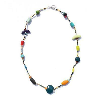 Single Strand Mixed Necklace by Imani Workshop Handmade Fair Trade