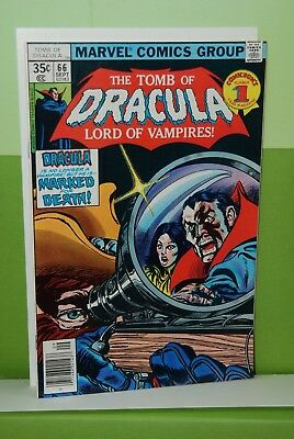 The Tomb of Dracula #66  Marvel  VF/NM  Unread