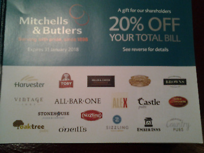 voucher 25% off food and drink christmas party harvester miller and carter toby