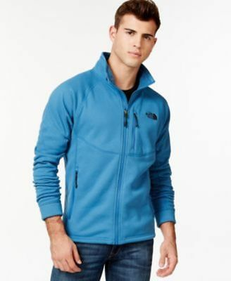 0f62fb952 THE NORTH FACE Timber Zipped Front Fleece Jacket Dish Blue Small New ...