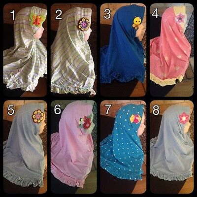 [ oztorecollection ] Patterns Kids Padding INSTANT HIJAB