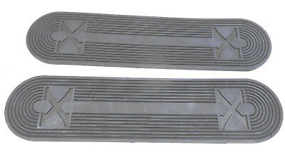 New Excelsior Henderson Footboard Rubber Mat Set of 2 384 (B)