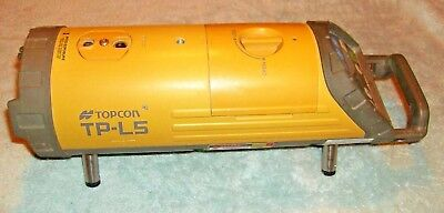 Topcon Model TP-L5 Red Beam Pipe Laser Excellent Condition TP-L5AV