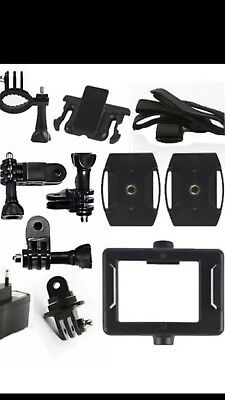 Sports Action Great Value Accessory Kit & Waterproof Selfie Stick Camera Kit