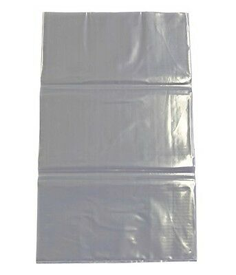 Pebble Bags STD 150um 430mm x 600mm Pk 100 Plastic Bark Garden Clear Heavy Duty