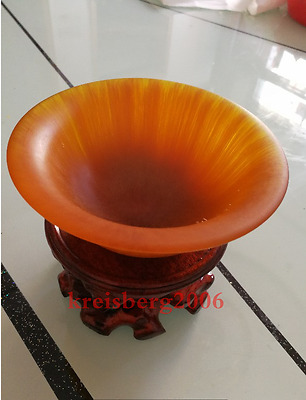 Pure natural gold horns horn cup horns bowl antique collection AAAAA+
