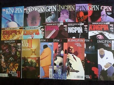 Big Marvel Kingpin Lot, Full Mini-Series Sets, Variants +More VF/NM DareDevil