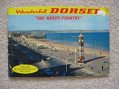 """Wonderful Dorset """"The Hardy Country""""  Souvenir Booklet of Dorset."""