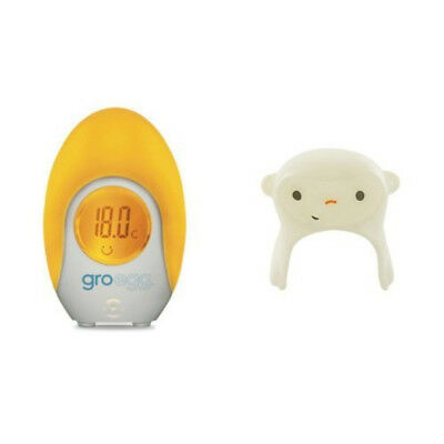 The Gro Company Gro-Egg Room Thermometer with Mikey the Monkey Shell