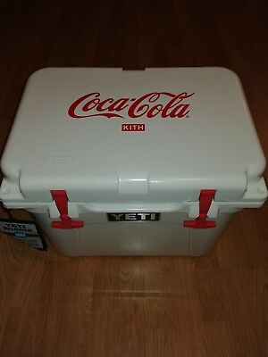 Kith X Coca Cola X Yeti Hard Cooler Roadie 20