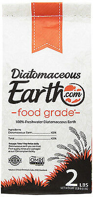 100% Food Grade Diatomaceous Earth DE 2 lbs by DiatomaceousEarth.com