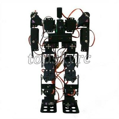 17DOF Biped Figurine Robotic Educational Robot Kit with MG996R Servos & Control