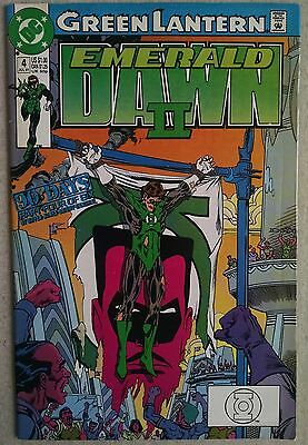 Green Lantern: Emerald Dawn II #4 (Jul 1991, DC) Comic Book