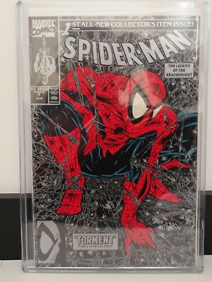 Spider-Man Comic Torment Collector's Issue #1 Aug 1990 Mint
