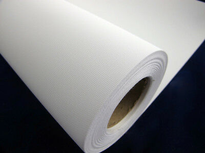 One Roll INKJET PRINTING CANVAS MATTE POLY CANVAS 1.118m 260gsm 44''x30m Roll