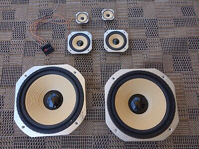 Pair VINTAGE 3 Way Green Mount speaker set