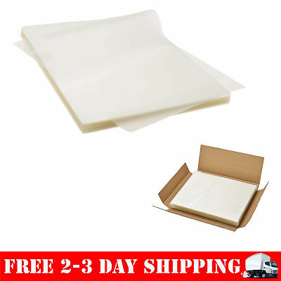 Thermal Laminating Pouches Sheets 100 Pack 3 Mil Thick A4 Letter Size Pockets