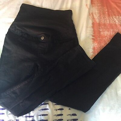 TARGET Maternity Jeans Size 10 Black