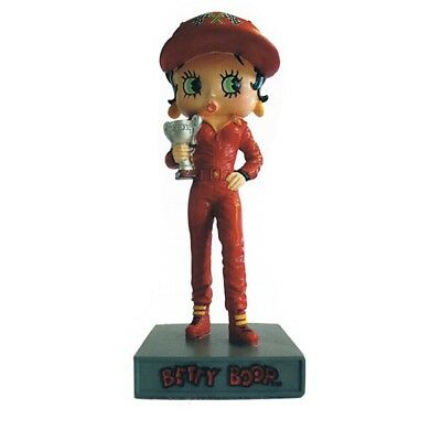 Figurine Betty Boop Pilote de course - Collection N°11