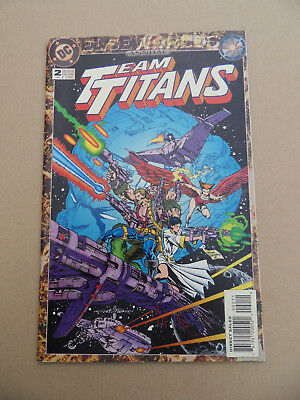 Team Titans Annual  2 .Elseworlds Story .  DC 1994 . FN / VF