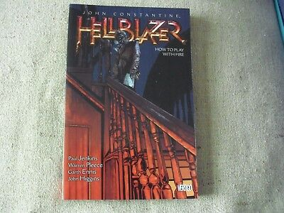 John Constantine Hellblazer. Volume 12. How To Play With Fire.  121-133 Jenkins