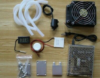 Cooling system Thermoelectric Refrigeration Cooler Fan Peltier TEC1-12706 Kits