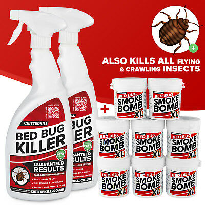 Carpet Moth Killer Large Smoke Insect Bomb From Pest