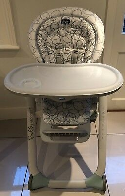 Chicco Polly Progress Highchair- Sage (used)
