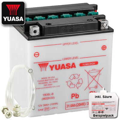 Batterie Harley FLHTCUSE 1800 Screamin´ Bj. 2010 YUASA YB30L-B