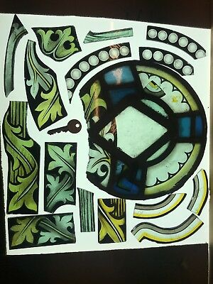 Stained Glass Fragments